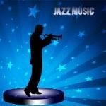 Постер, плакат: Jazz musician