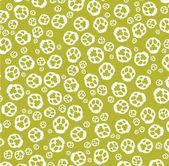 Paw print pattern — Stock Vector