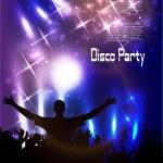 Disco club. — Stock Vector