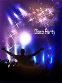 Disco club. — Vector de stock
