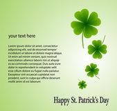 Happy St Patrick s Day — Stock Vector