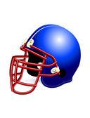 Football helmet on a white background — Stockvektor