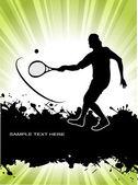 Tennis player — Stock Vector
