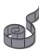 Photographic film — Stock Vector