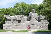 Monument to victims of political repression in Stavropol — Stock Photo