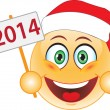 Smile New Year, Christmas. Smile. — 图库矢量图片 #26686909