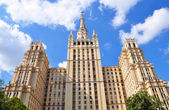 HIGH-RISE BUILDING IN MOSCOW — Stock Photo