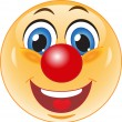 Smile. Good clown. — Stock Vector #26790423