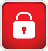 Symbol, icon, lock. — Stock Vector
