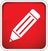 Pencil icon. — Stockvektor