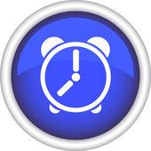 Icon, the clock, the symbol — Stock Vector