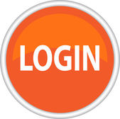 Login icon — Stock Vector