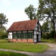 Park museum in Cloppenburg Germany — Stock Photo