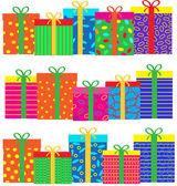 Cadeauset — Stockvector