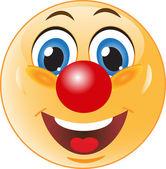 Smile. Good clown. — Stock Vector