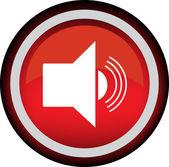 Vector icon radio sound — Stock Vector
