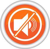 Symbol or ban radiosound — Stock Vector