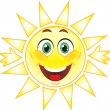 Sun, Smile. symbol — Stock Vector