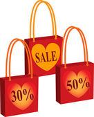 Inscription discount — Stock Vector