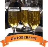 Octoberfest card — Stock Photo