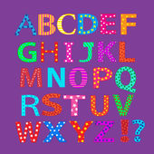 Funny alphabet — Stock Photo
