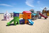 Beach playground — Stock Photo