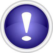 Warning icon — Stock Vector