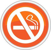 No smoking sign — Stock Vector