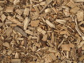 Wood chips — Stock Photo