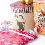 Lot of Christmas presents — Stock Photo