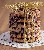 クランベリーのクッキーを縛ら — ストック写真