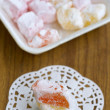 Turkish delight (rahat lokum) — Stock Photo