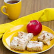 Apple cakes — Stock Photo