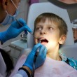 Boy in a dental surgery — Stock Photo