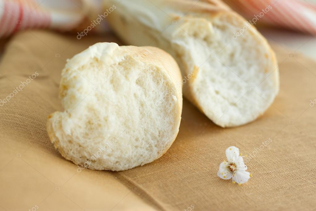 White Bread Loaf White Bread Loaf Near The
