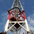 Stock Photo: Offshore Flaretower