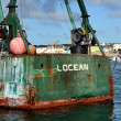 Stock Photo: Old Fishing Vessel