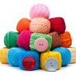 Ball of yarn — Stockfoto #12441034