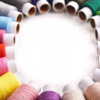 Stock Photo: Threads multicolored