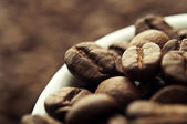 Cup coffee background — Stock Photo