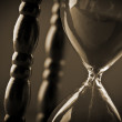 Close up of hourglass — Stock Photo #19620385