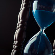 Close up of hourglass — Stock Photo