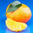 Fresh orange mandarins  — Stock Photo