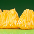 Tangerine slices — Stock Photo