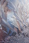 抽象冰图 — 图库照片
