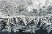Abstract ice frost — Stock Photo