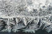 Geada gelo abstrata — Foto Stock