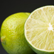 Fresh green limes — Stock Photo