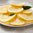 Stock Photo: Fresh lemons
