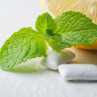 Gums with mint — Stock Photo